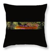 The View From Heaven On Earth Throw Pillow