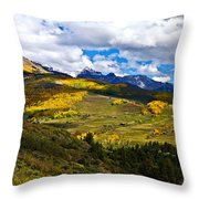 The View From Last Dollar Road Throw Pillow