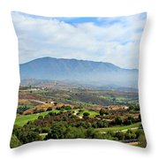 The View From Mum And Dads Throw Pillow