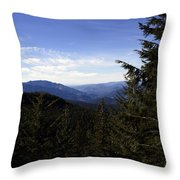 The View From Nf 7605 No 1 Throw Pillow