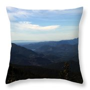 The View From Nf 7605 No 2 Throw Pillow