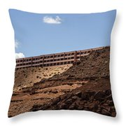 The View Hotel - Monument Valley - Arizona Throw Pillow