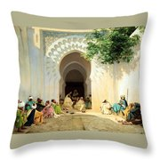 The Village Counselor Throw Pillow