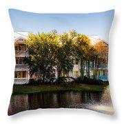 The Villas Of Walt Disney World Throw Pillow