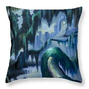 The Vine And The Alter Throw Pillow