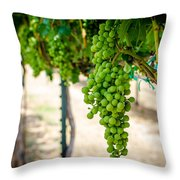 The Vineyard Throw Pillow