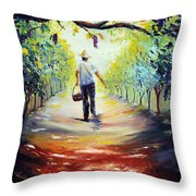 The Vintner Throw Pillow by Meaghan Troup