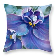 The Violet Throw Pillow