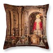 The Virgin Of Hope Throw Pillow