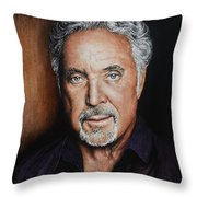 The Voice Throw Pillow by Andrew Read