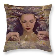 The Voice Of The Thoughts Throw Pillow
