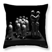 The Voyeurs Throw Pillow
