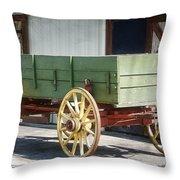 The Wagon Throw Pillow