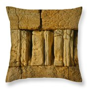 The Western Wall  Throw Pillow
