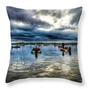 The Wait To Launch Throw Pillow