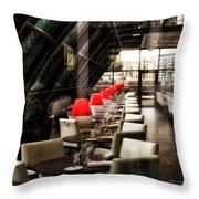 The Waiter Throw Pillow by Kent Mathiesen