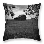The Waiting Woods  Throw Pillow