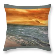 The Walk Alone Throw Pillow