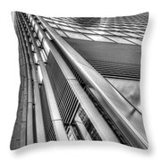 The Walkie Talkie London Throw Pillow