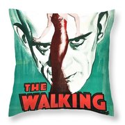 The Walking Dead Poster Throw Pillow