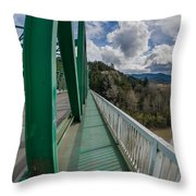 The Walkway Throw Pillow
