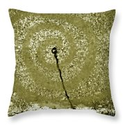 The Wand Throw Pillow