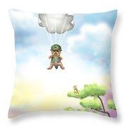 The War Hero Throw Pillow