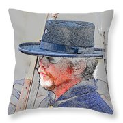 The War Vet Throw Pillow