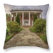 The Ward Mansion - Conway - Arkansas Throw Pillow