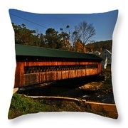 The Ware Bridge Throw Pillow