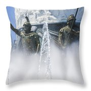 The Warriors Throw Pillow
