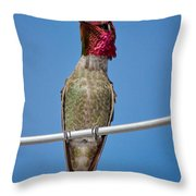 The Watcher Throw Pillow