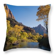 The Watchman Throw Pillow