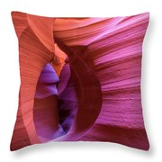 The Watchman In Color Throw Pillow