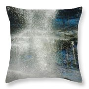 The Water Blue Throw Pillow