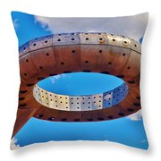 The Water-less Ring Throw Pillow