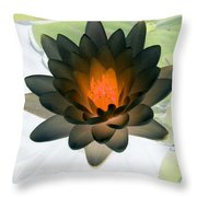 The Water Lilies Collection - Photopower 1035 Throw Pillow