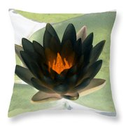 The Water Lilies Collection - Photopower 1037 Throw Pillow