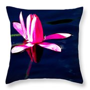 The Water Lily... Throw Pillow