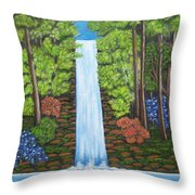 The Waterfall Throw Pillow