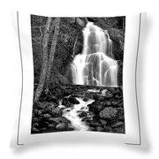 Moss Glen Falls Poster Throw Pillow