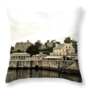 The Waterworks Throw Pillow