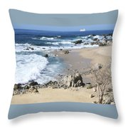 The Waves - The Sea Throw Pillow