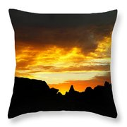 The Way A New Day Shines Throw Pillow