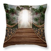 The Way And The Gate Throw Pillow