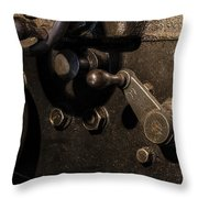The Way Back Machine Throw Pillow