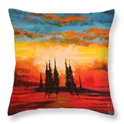 The Way Is Alway Opened Throw Pillow