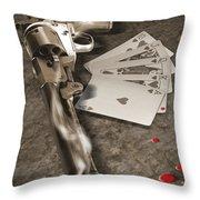 The Way Of The Gun 2 Throw Pillow