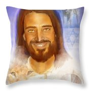The Way The Truth The Life Throw Pillow