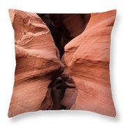 Path To A New World Of Colors Textures And Shapes Throw Pillow